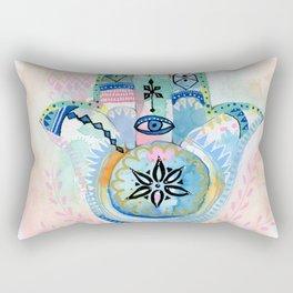 Morocco Hamsa Hand Rectangular Pillow