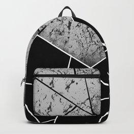 Yin Yang Marble Geometric Glam #2 #geo #decor #art #society6 Backpack