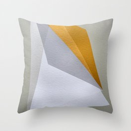 Golden Edge Throw Pillow
