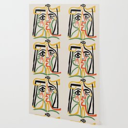 Picasso - Woman's head #1 Wallpaper