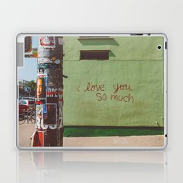 I Love You So Much Austin Laptop & iPad Skin