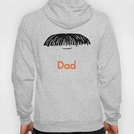 Dad Moustache Hoody