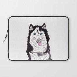 Bowser the Husky Laptop Sleeve