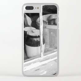 Storefront Clear iPhone Case