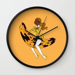 Ms Plantain Wall Clock