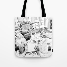 the living room Tote Bag