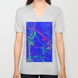 Life In Your Veins Unisex V-Neck