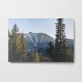 Lassen Peak Metal Print