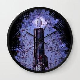 Poker Deadman Wall Clock