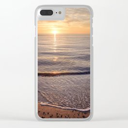 Solitude at Sunset Clear iPhone Case