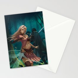The Desperate Quest Second Age of Retha book AM Sohma Stationery Cards