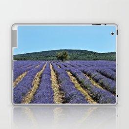 Lavender field, Provence, France Laptop & iPad Skin