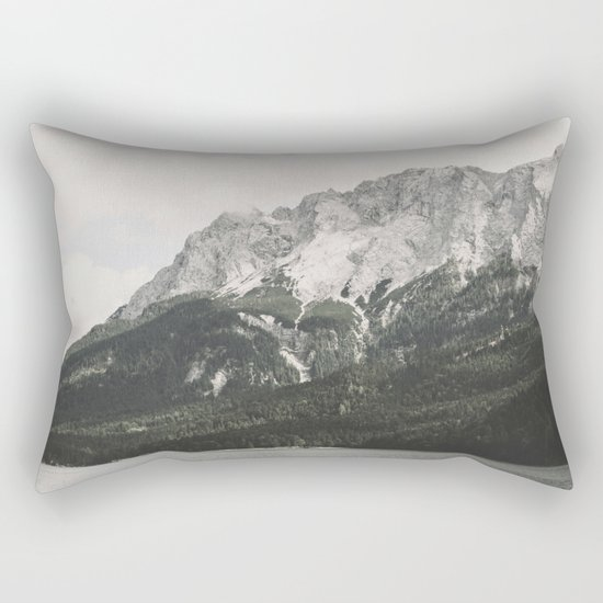 Such great Heights - Landscape Photography Rectangular Pillow
