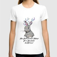 jackalope T-shirts featuring Jackalope by andyroosky