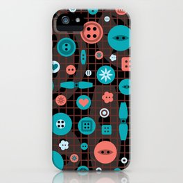 button it iPhone Case