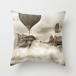 The Far Pavilions Throw Pillow