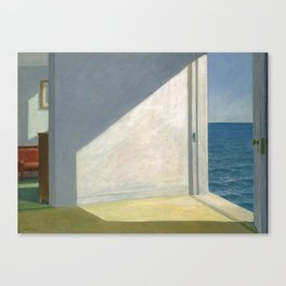 Rooms By The Sea Edward Hopper Painting Canvas Print