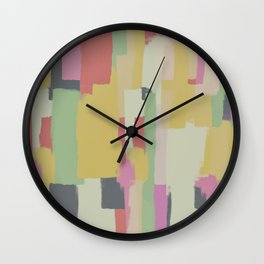 Abstract Painting No. 1 Wall Clock