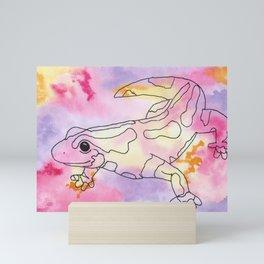 Colorful Salamander Mini Art Print
