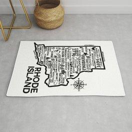 Rhode Island Map Rug