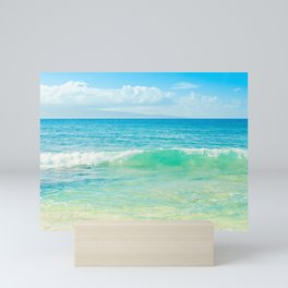 Ocean Blue Beach Dreams Mini Art Print