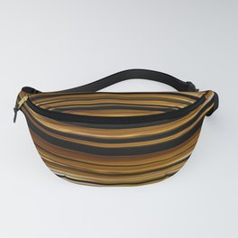 SCOTCH whiskey wood slats with shadows Fanny Pack