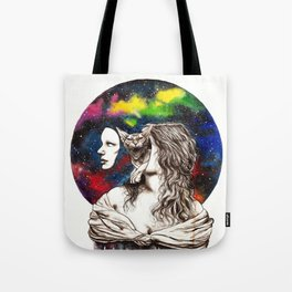 The Sphynx within Tote Bag