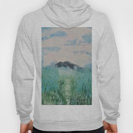 Misty Day - Abstract nature Hoody