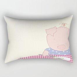Not pea's again Rectangular Pillow