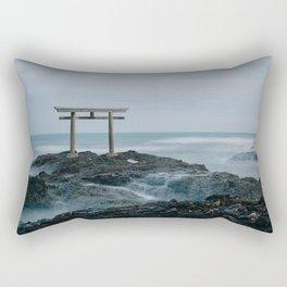 Ocean Shrine Rectangular Pillow