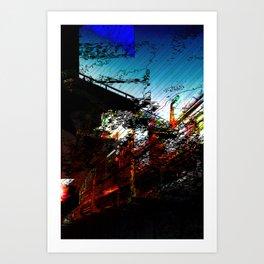 Dissolution of Transit Art Print