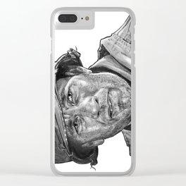 Captain Miller Clear iPhone Case