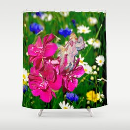 Embraced by Life Shower Curtain