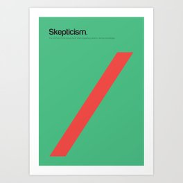 Skepticism Art Print