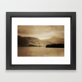 Lake George II Framed Art Print