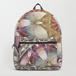 Flower of Life Mandalas 13 Backpack