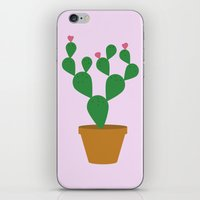 cacti iPhone & iPod Skins featuring Cacti by Libbie Bischoff