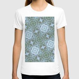 Blue Lotus Tiles T-shirt