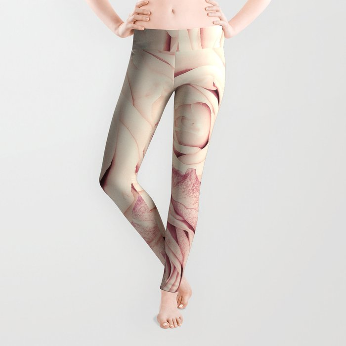 Some people grumble I Floral rose roses flowers pink Leggings
