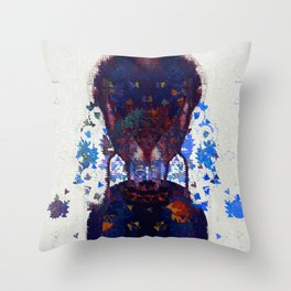 your footsteps are pavlovs bell Throw Pillow