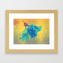 Hibiskus Magic Flower Art Framed Art Print