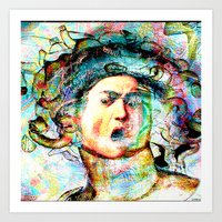 mythology Art Prints featuring Mythology by Ganech joe