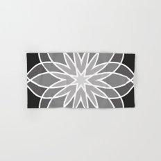 Shades of Grey | Geometric Pattern Hand & Bath Towel