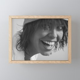 7525 Sweetheart Darling Rachael enjoying Delray Beach Framed Mini Art Print