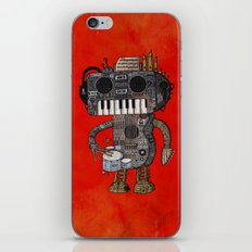 Musicbot iPhone & iPod Skin
