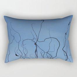 A Tangled Mess Rectangular Pillow