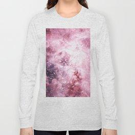 Pink Tarantuala Nebula Core Long Sleeve T-shirt