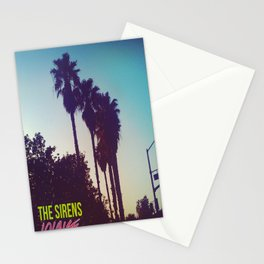 PALM TREES - THE SIRENS LOUNGE Stationery Cards