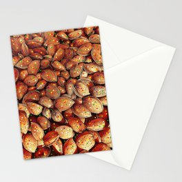 almond and star sky Stationery Cards