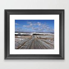 Lepley Road Framed Art Print